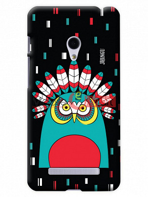 Fancy 3D African Owl Mobile Cover For Asus Zenphone 5