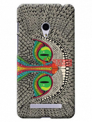 Fancy 3D Funky Billa Mobile Cover For Asus Zenphone 6