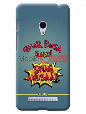 Fancy 3D Swag Anusaar Mobile Cover For Asus Zenphone 6