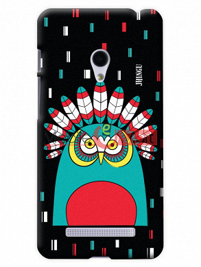 Fancy 3D African Owl Mobile Cover For Asus Zenphone 6