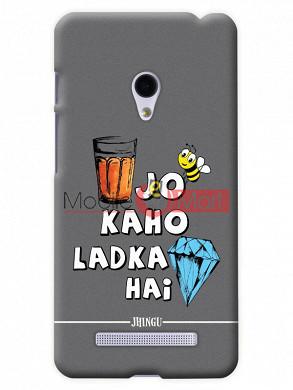 Fancy 3D Ladka Heera Hai Mobile Cover For Asus Zenphone 6