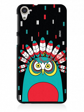 Fancy 3D African Owl Mobile Cover For HTC Desire 826
