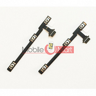 Power On Off Volume Button Key Flex Cable For Motorola Moto M