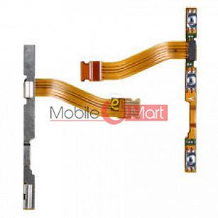 Power On Off Volume Button Key Flex Cable For Motorola Moto X2