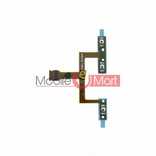 Power On Off Volume Button Key Flex Cable For Motorola Moto X