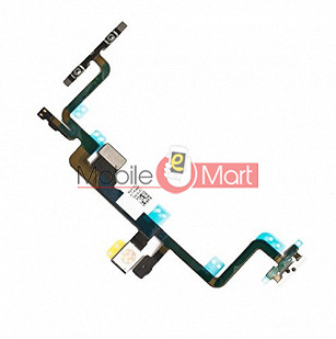Power On Off Volume Button Key Flex Cable For iPhone 6 Plus