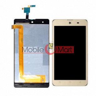 Lcd Display With Touch Screen Digitizer Panel For Micromax Canvas Selfie 4 Q349
