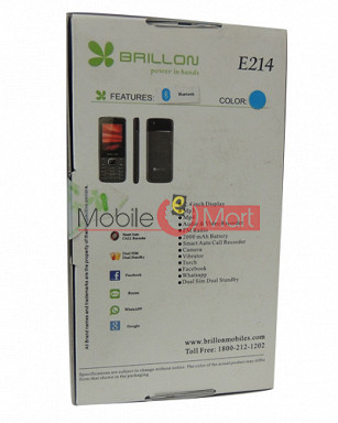 Brillon E214  Dual Sim  Mobile Phone