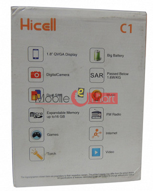 HICELL C1 Dual Sim  Mobile Phone