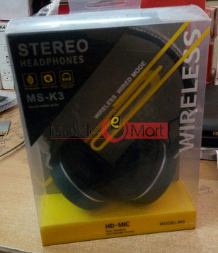 MS-K3 Wireless Portable Stereo Bluetooth Headphone