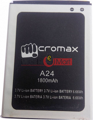 Mobile Battery For Micromax Bolt A24