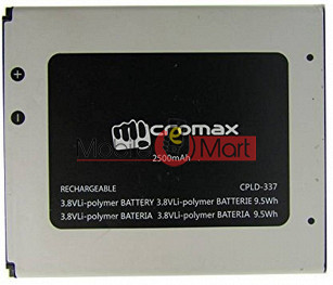 Mobile Battery For Micromax Canvas Nitro A311