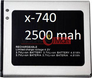 Mobile Battery For Micromax X740
