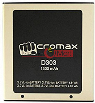 Mobile Battery For Micromax Bolt D303