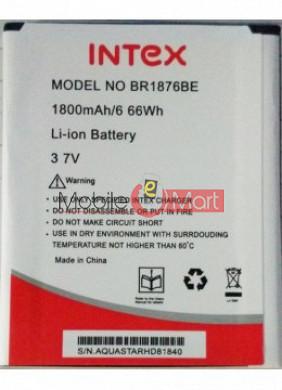 Mobile Battery For Intex Aqua Star HD