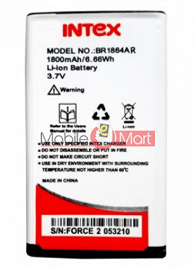 Mobile Battery For Intex Force 2