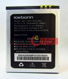 Mobile Battery For Karbonn A51+ Plus