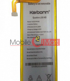 Mobile Battery For Karbonn Quattro L55 HD battery