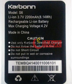 Mobile Battery For Karbonn Titanium S6