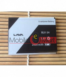 Mobile Battery For Lava BLV-34