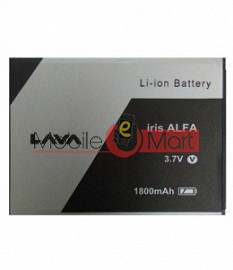 Mobile Battery For Lava Iris Alfa