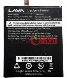 Mobile Battery For Lava LEB050