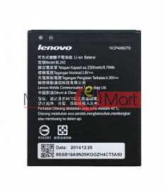 Mobile Battery For Lenovo A6010 Plus