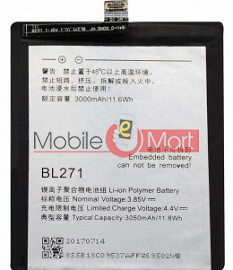 Mobile Battery For Lenovo Zuk Edge Z2 X