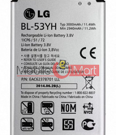 Mobile Battery For LG G3 D850