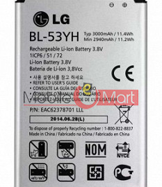 Mobile Battery For LG G3 D855