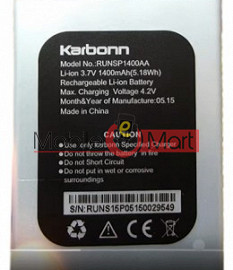 Mobile Battery For Karbonn Titanium S15 Plus