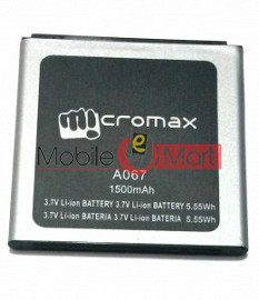 Mobile Battery For Micromax Bolt A067