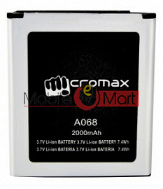 Mobile Battery For Micromax Bolt A068