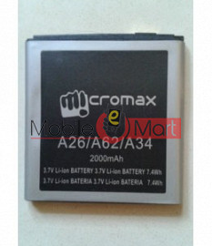 Mobile Battery For Micromax Bolt A26