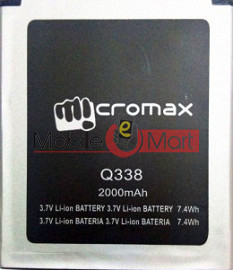 Mobile Battery For Micromax Bolt Q338