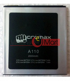 Mobile Battery For Micromax Canvas 2 A110