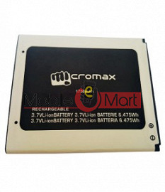 Mobile Battery For Micromax Canvas A1 AQ4501