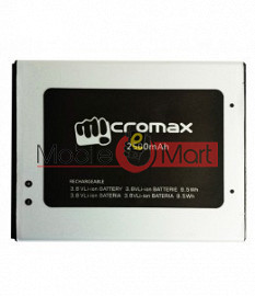Mobile Battery For Micromax Canvas Mega 4G Q417