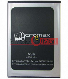Mobile Battery For Micromax Canvas Power A96