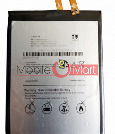 Mobile Battery For Micromax Yu Yureka Note YU6000