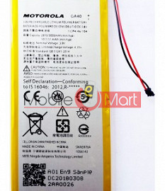 Mobile Battery For Motorola Moto G4 Plus XT1640 XT1641 XT1642 XT1643 XT1644