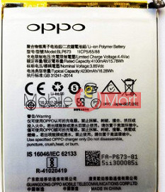 Mobile Battery For Oppo A5