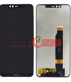 Lcd Display With Touch Screen Digitizer Panel For Nokia 5.1 plus