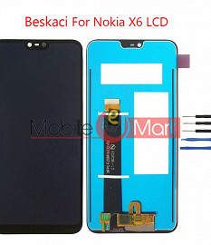 Lcd Display With Touch Screen Digitizer Panel For Nokia X6