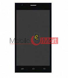 Lcd Display With Touch Screen Digitizer Panel For Spice Xlife M5Q Plus