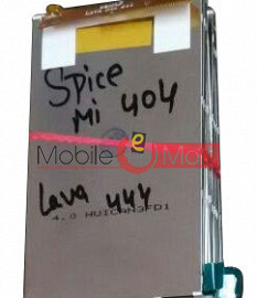 Lcd Display Screen For Spice Xlife Mi404