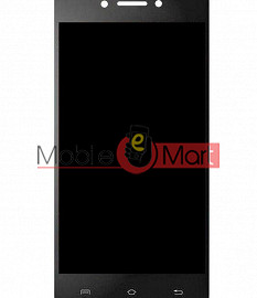 Lcd Display With Touch Screen Digitizer Panel For Micromax Bharat 5 Plus