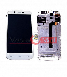 Lcd Display With Touch Screen Digitizer Panel For Micromax Canvas Gold A300