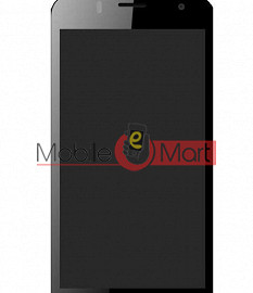 Lcd Display With Touch Screen Digitizer Panel For Intex Aqua Y4
