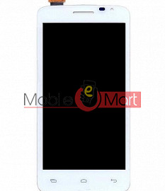 Lcd Display With Touch Screen Digitizer Panel For Micromax A177 Canvas Juice